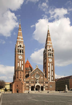 szeged: Votive church in Szeged  Hungary