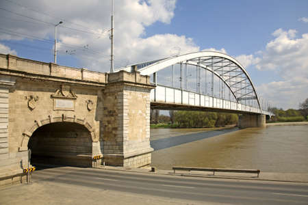 szeged: Bridge in Szeged  Hungary Stock Photo