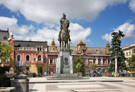 mikhail: Monument to Mikhail the Brave in Oradea  Romania