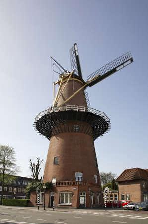 utrecht: Windmill in Utrecht  Netherlands