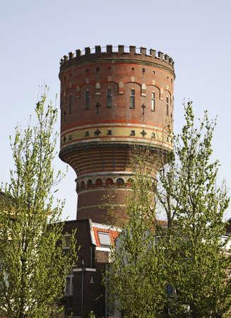 utrecht: Water tower in Utrecht  Netherlands