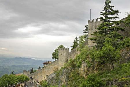 san marino: Fortress  in San Marino