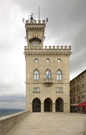 sammarinese: Palazzo del governo a San Marino Editoriali