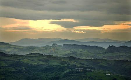 sammarinese: Paesaggio San Marino