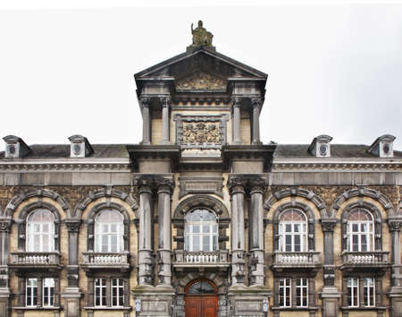 belgique: Palace of Justice in Dinant  Belgique Stock Photo