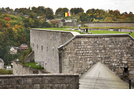 belgique: Citadel in Dinant  Belgique  Stock Photo