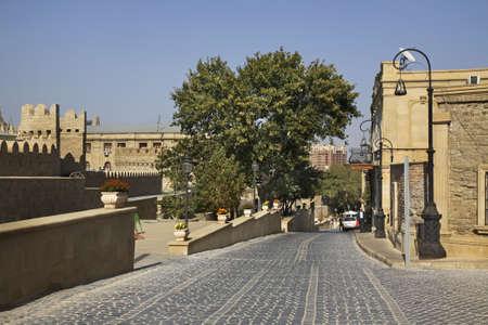 baku: Icheri Sheher in Baku  Azerbaijan