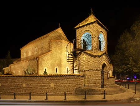 tbilisi: Chiesa in Tbilisi Georgia Archivio Fotografico