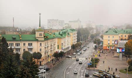 lenin: Lenin Square in Baranovichi  Belarus