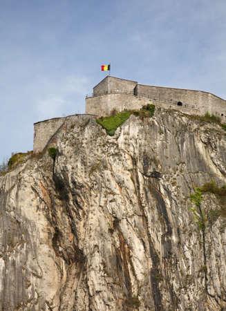 belgien: Citadel in Dinant. Belgique