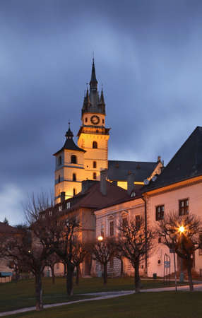 catherine: Church of St. Catherine in Kremnica. Slovakia Stock Photo