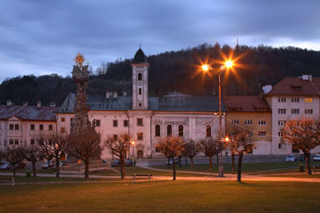 franciscan: Franciscan Monastery in Kremnica. Slovakia Stock Photo