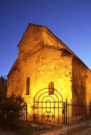 tbilisi: Basilica di Anchiskhati a Tbilisi. Georgia