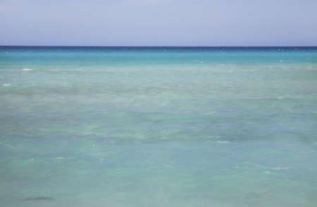 paysage: Straits of Florida in Varadero.
