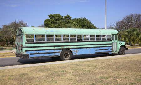 motorbus: Varadero. Cuba