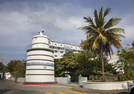 Hukuru Miskiy (Male Friday Mosque) in Male. Republic of the Maldives Standard-Bild