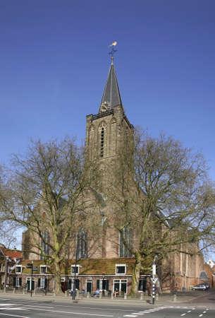 utrecht: Jacobikerk in Utrecht. Netherlands