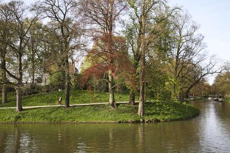 utrecht: Park in Utrecht. Netherlands