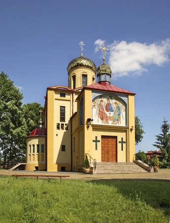 Church of Saints Cyril in Biala Podlaska. Poland