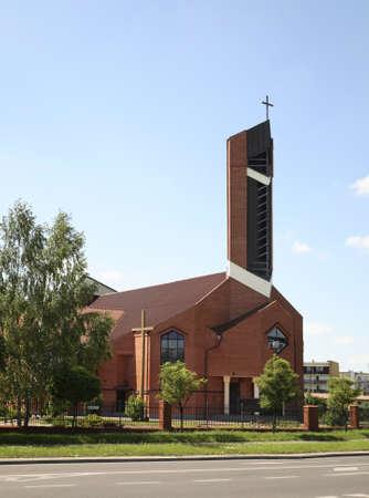 Church of Honorat Kozminski in Biala Podlaska. Poland