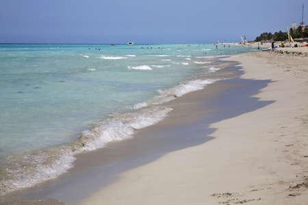 straits: Straits of Florida in Varadero. Cuba