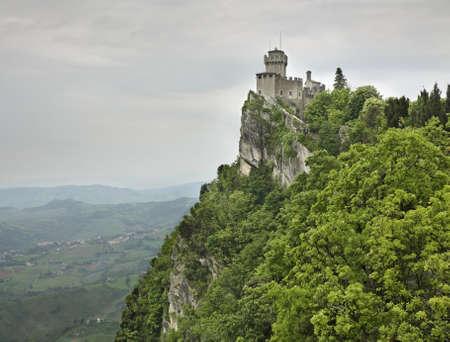 sammarinese: Fortress  Cesta  in San Marino