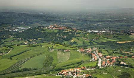 sammarinese: Landscape. San Marino Archivio Fotografico