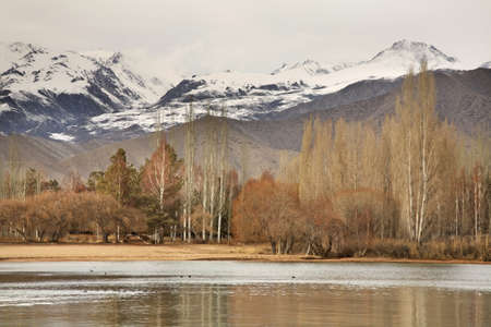 issyk kul: Cholpon-Ata. Kyrgyzstan