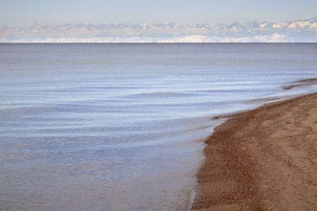 kyrgyzstan: Lago Issyk-Kul. Kirguist�n