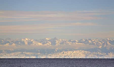 issyk kul: Lake Issyk-Kul. Kyrgyzstan Stock Photo