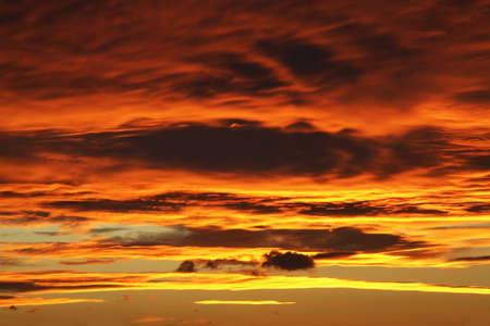 Sunset in Cholpon-Ata. Kyrgyzstan photo