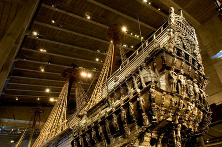 Vasa Museum in Stockholm. Sweden Editorial