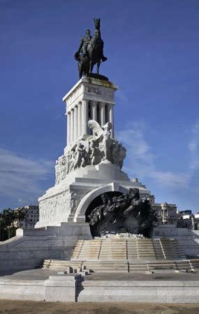 maximo: Maximo Gomez Monument in Havana. Cuba