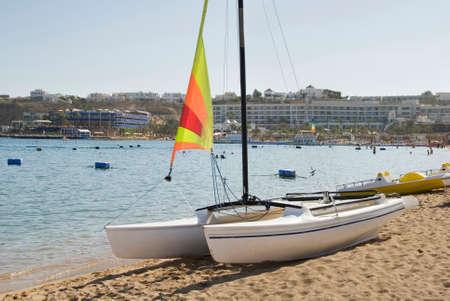 sharm: Coast in Sharm el-Sheikh. Egypt Stock Photo