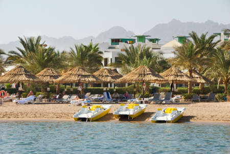 sharm: Beach in Sharm el-Sheikh. Egypt