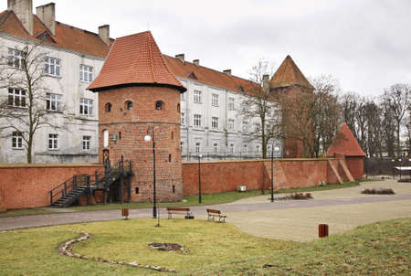 collegium: Collegium hosianum in Braniewo. Poland Stock Photo