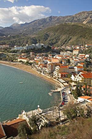 montenegro: Rafailovici. Montenegro Stock Photo