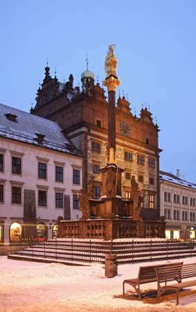 plaga: Peste columna en Plzen. Rep�blica Checa