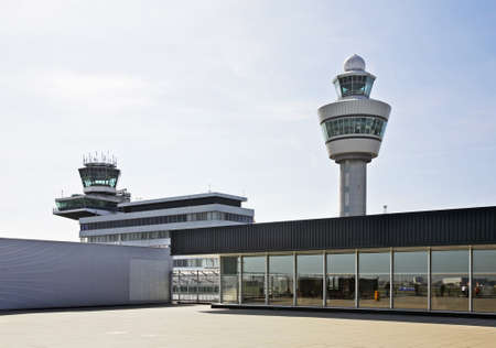 nederland: Amsterdam Airport Schiphol. Netherlands Editorial