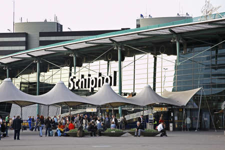 schiphol: Amsterdam Airport Schiphol. Netherlands Editorial
