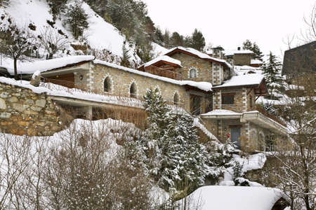 principality: Sornas. Principality of Andorra Stock Photo