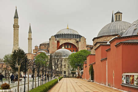 constantinople: Hippodrome of Constantinople (Sultanahmet square) in Istanbul. Turkey Stock Photo