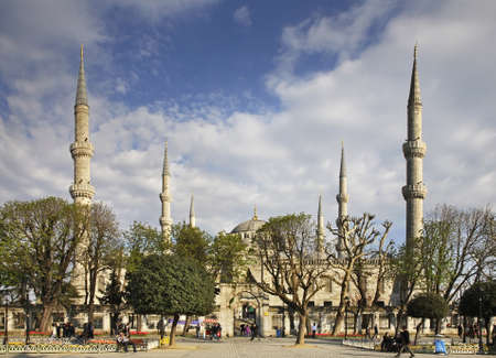 sultan: Sultan Ahmed Mosque (Blue mosque) in Istanbul. Turkey