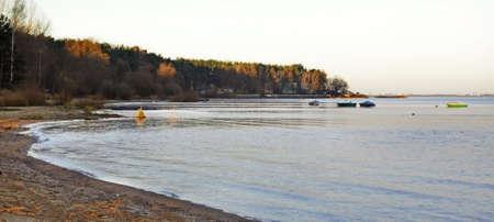 Turawskie Lake. Poland