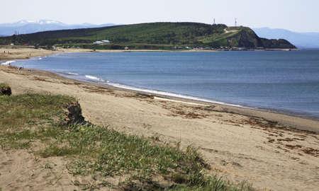 sakhalin: Sea of Okhotsk. Peninsula Puzin. Sakhalin. Far East. Russia