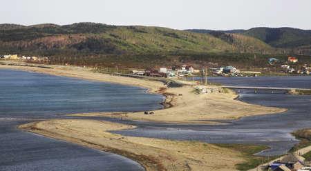 sakhalin: Okhotsk. Puzin Peninsula. Sakhalin. Far East. Russia