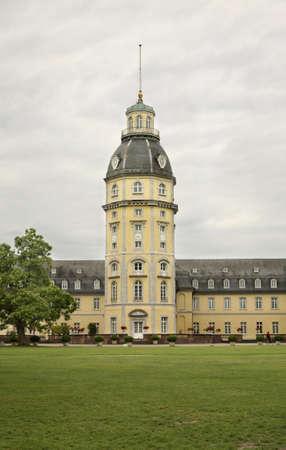 karlsruhe: Karlsruhe Palace. Germany