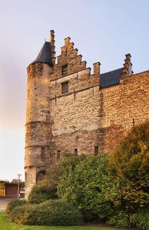 antwerp: Het Steen. Antwerp. Belgium