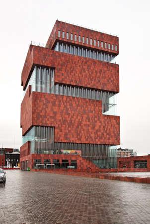 Museum aan de Stroom in Antwerpen. België Redactioneel