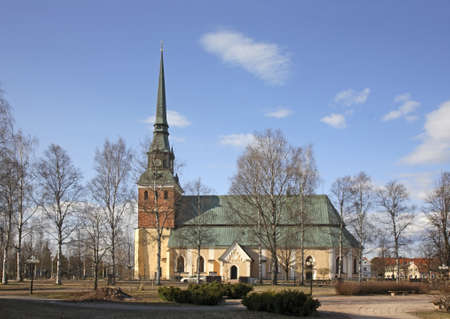 michael the archangel: Church of Archangel Michael in Mora. Sweden